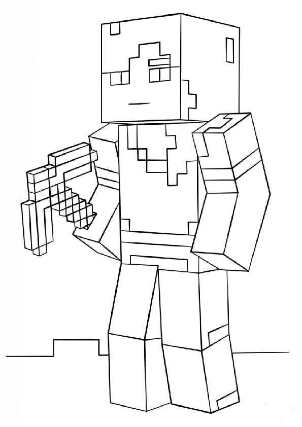 ausmalbilder minecraft-3