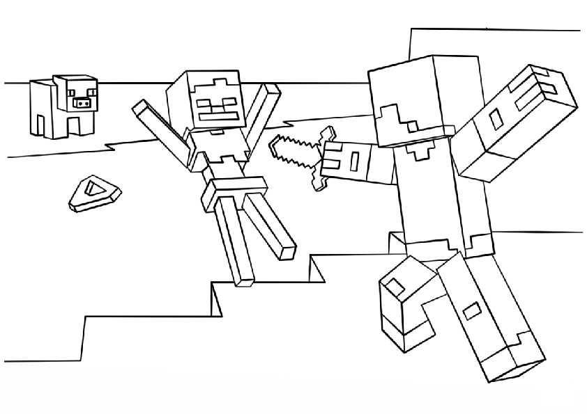 ausmalbilder minecraft-4