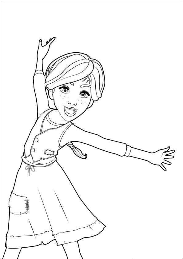 ballerina-5 | Ausmalbilder Malvorlagen