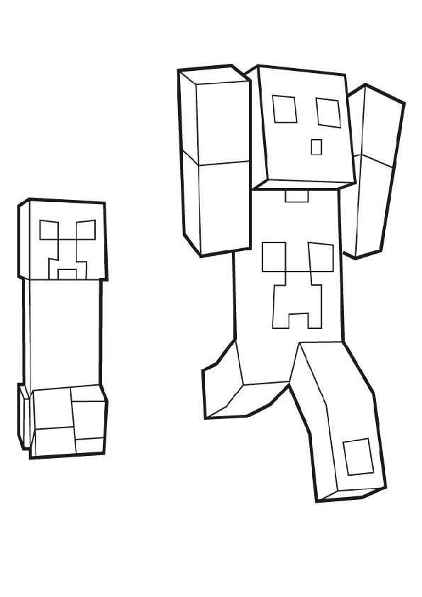 ausmalbilder minecraft-10