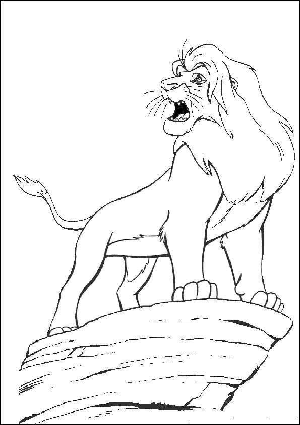 ausmalbilder löwe-2