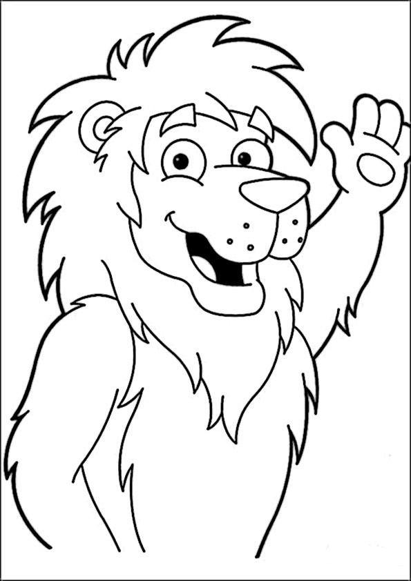 ausmalbilder löwe-9