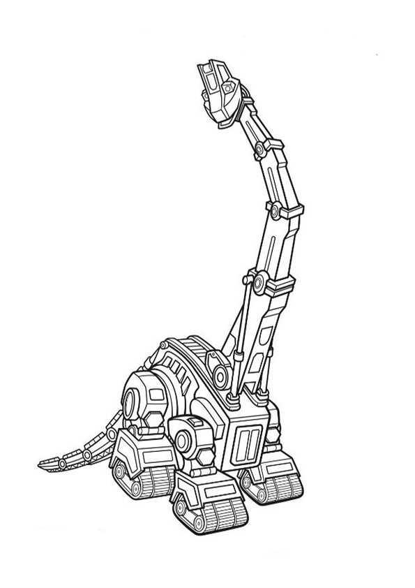 Dinotrux 2 Ausmalbilder Malvorlagen
