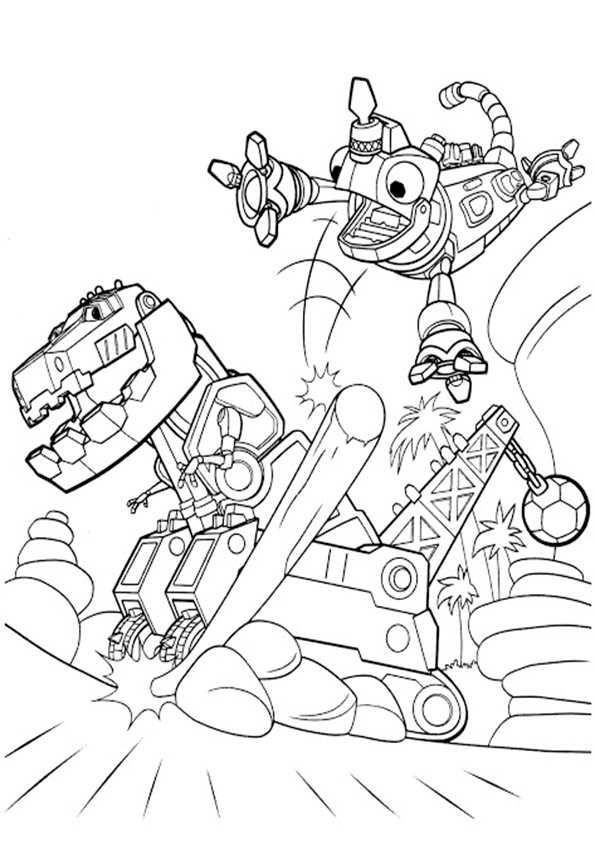 Dinotrux 17 Ausmalbilder Malvorlagen