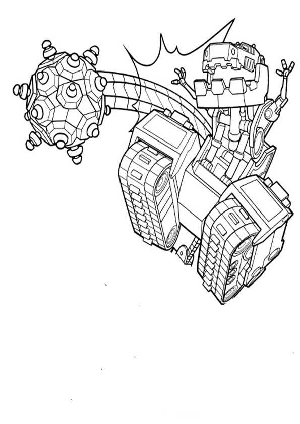 ausmalbilder dinotrux -20