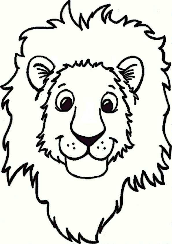ausmalbilder löwe-15