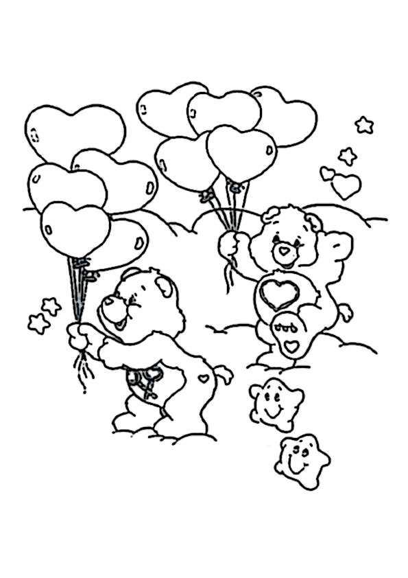 ausmalbilder glücksbärchis -12