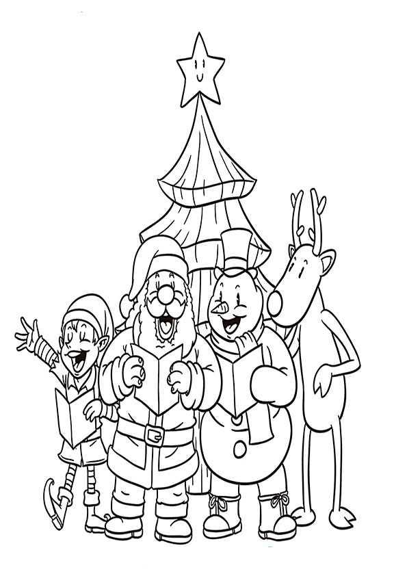 ausmalbilder weihnachten-109
