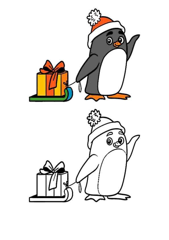 ausmalbilder weihnachten-129