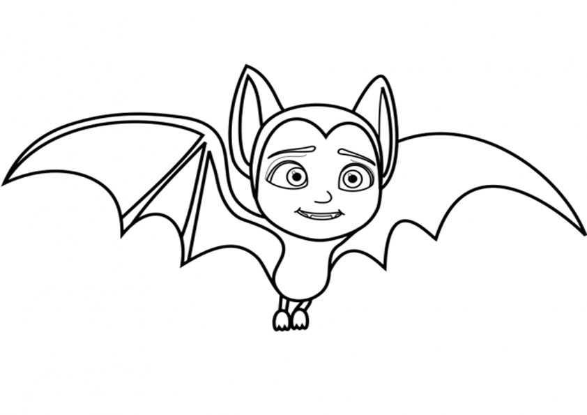 ausmalbilder vampirina-6