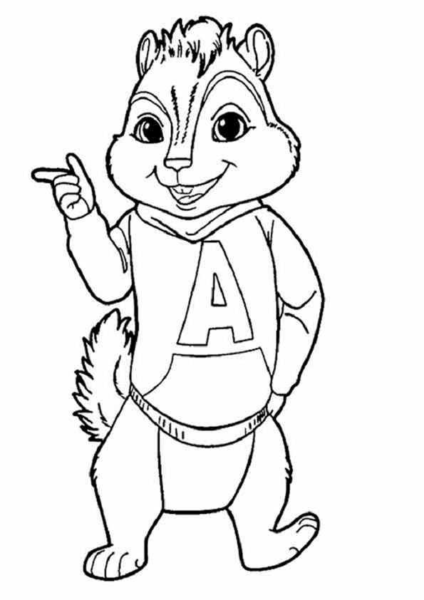 ausmalbilder eichhörnchen-9