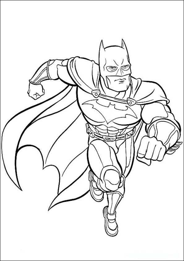 batman1  ausmalbilder malvorlagen