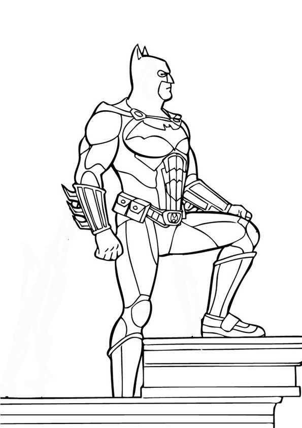 ausmalbilder batman -5