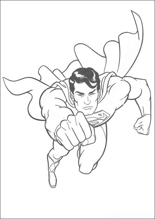 ausmalbilder superman -1