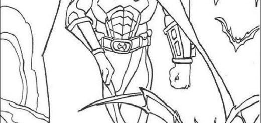 ausmalbilder batman -10