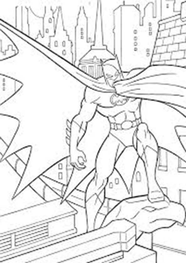 ausmalbilder batman -9