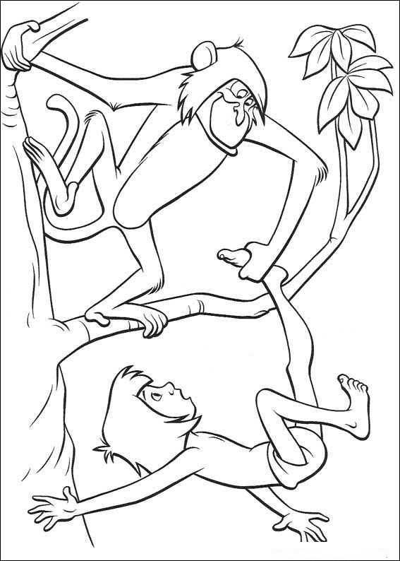das dschungelbuch10  ausmalbilder malvorlagen