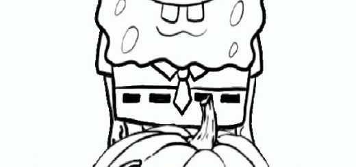 ausmalbilder halloween -69