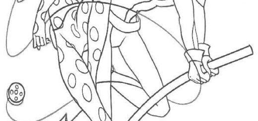 ausmalbilder ladybug -21